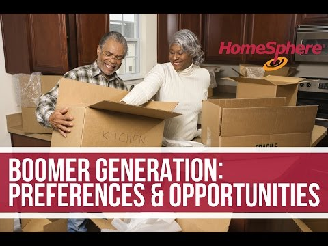 2016 The Boomer Generation Redefined - Preferences & Opportunities