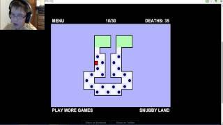 I rage quit: World's Hardest Game