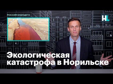 Навальный об экологической катастрофе в Норильске