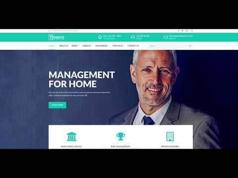 Finance: Financial Institution & Professional Joomla Template