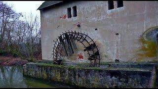 Exploring An Abandoned Mill In Slovakia | Urban Exploration
