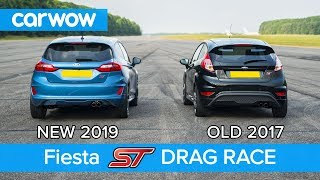 New Ford Fiesta ST 1.5 vs old 1.6 ST DRAG RACE & ROLLING RACE | carwow