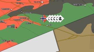 22 мая 2017. Военная обстановка в Сирии. Норвежский спецназ на территории Сирии. Русский перевод.