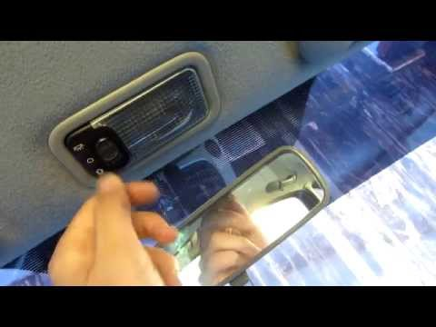 How to replace Interior Lamp Light Bulb on Xsara Picasso