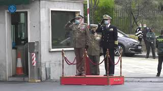 The Chairman of the European Union Military Committee visits Spanish Defence Staff HQ