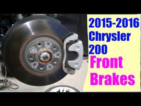 2013 chrysler 200 front brakes
