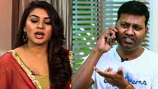 Hansika Complaints on Behindwoods VJ! | Vada with Sarithiran