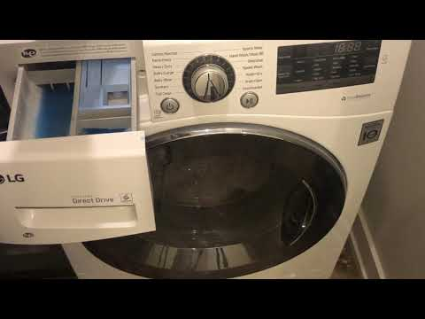 How To Wash a Blanket In a LG Front Loading Washing Machine