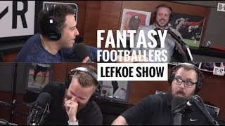 The Fantasy Footballers Draft First Fantasy HOF Class | The Lefkoe Show