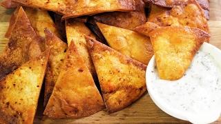 Lavaştan Cips Tarifi - Neşeli Yemekler - Yemek Tarifleri