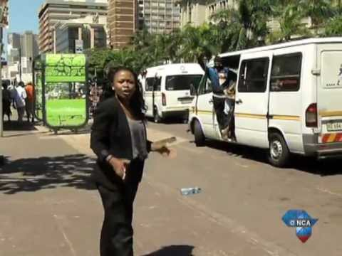 Durban taxi drivers get makeover