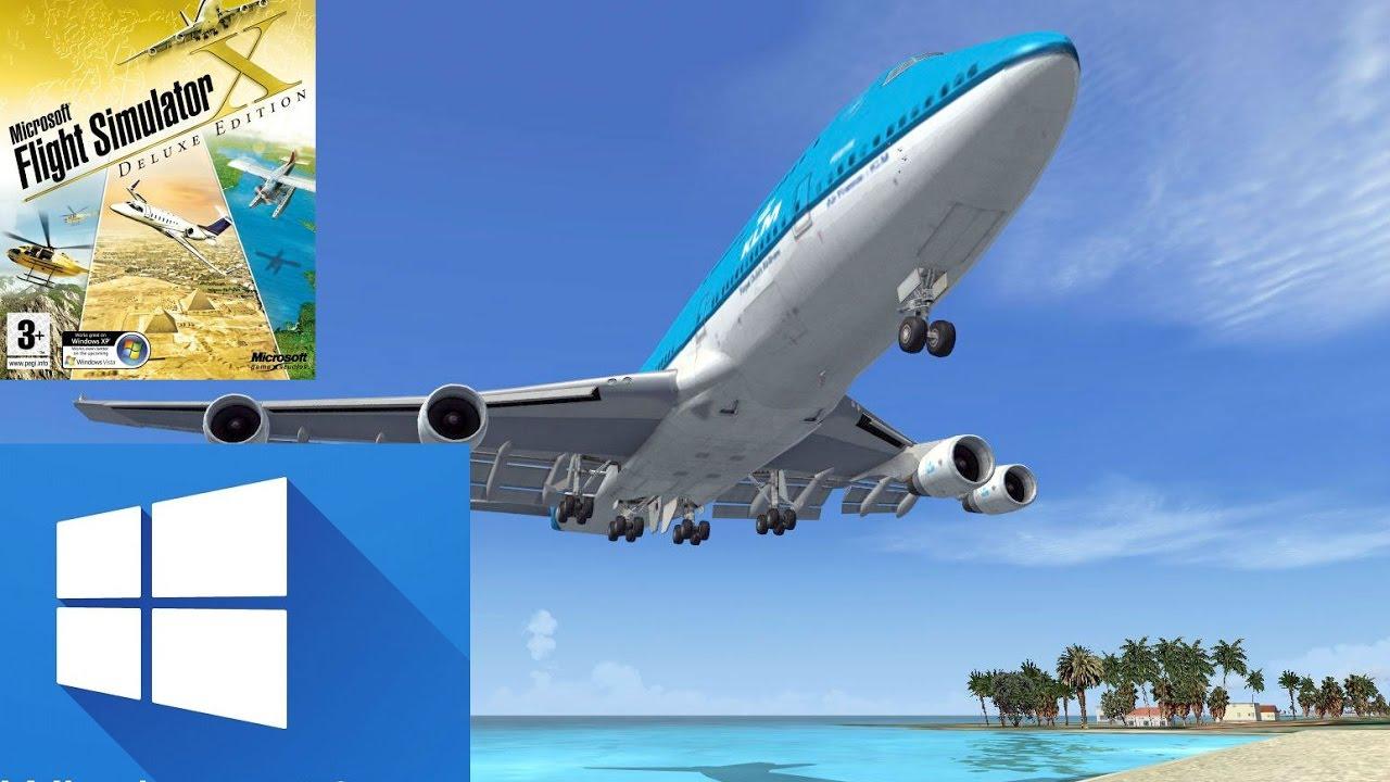 BAIXAR E INSTALAR FLIGHT SIMULATOR X - FSX No Win 10 - 2017