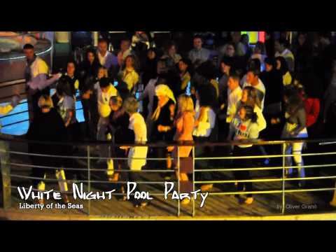 Liberty of the Seas - White Night Pool Party