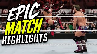 WWE 2K16 - Chris Jericho vs. Finn Balor | Epic Match Highlights!