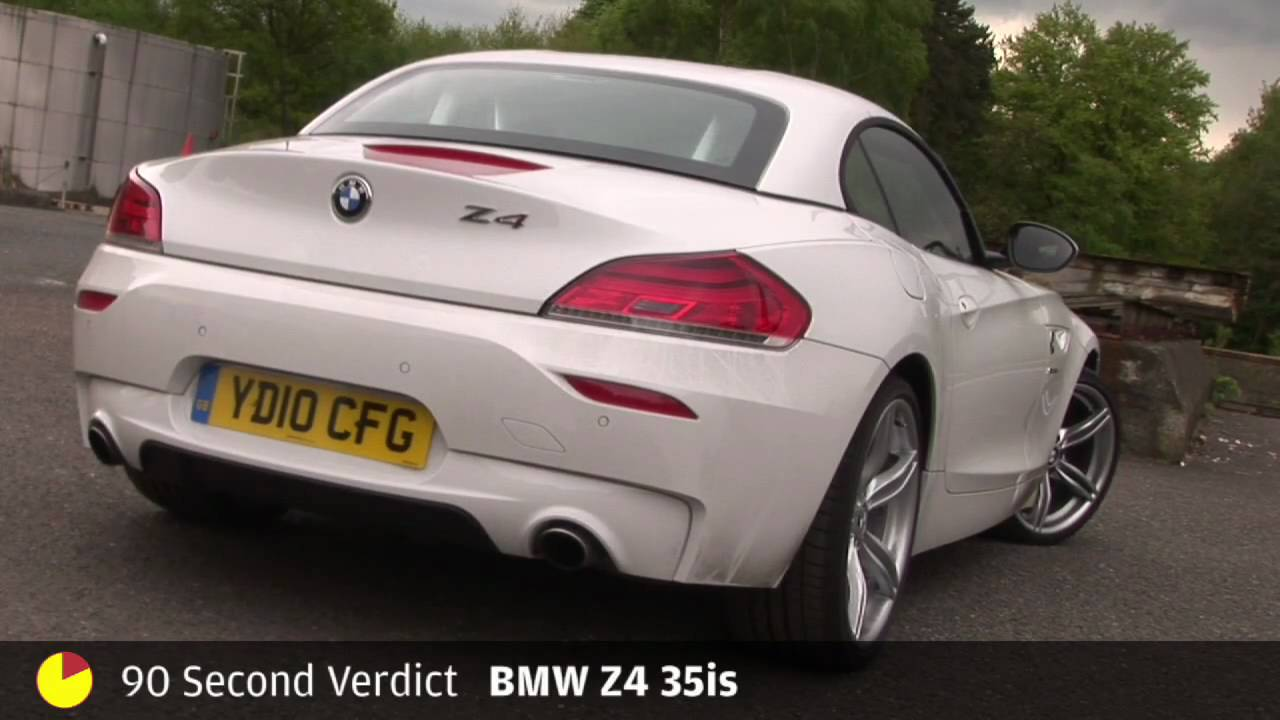 Bmw Z4 35is 90sec Review By Autocar Co Uk