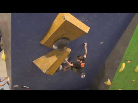 Colin Duffy 2017 USAC Bouldering Divisional Championship Finals