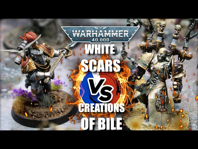 RAPPORT DE BATAILLE WARHAMMER 40.000 - Space Marines VS Chaos Space Marines