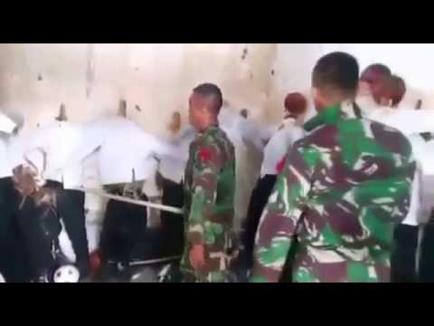 Kekerasan TNI terhadap junior