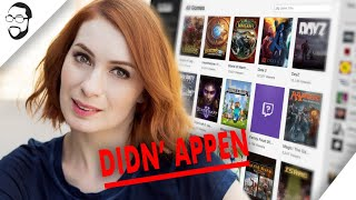 Didn' Appen: Felicia Day's Twitch Browsing Lie