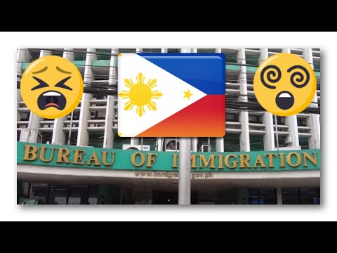Filipino Visa Renewal at Bureau of Immigration Intramuros - #StoryVlog
