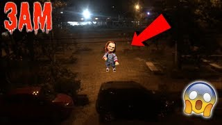 (CHUCKY BREAKS INTO MY HOUSE) CHUCKY DOLL COMES TO MY HOUSE AT 3:00 AM!! SO SCARY OMG!!
