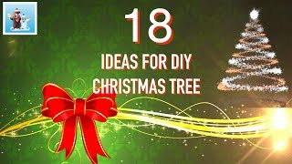 18 Cool Ideas for DIY Christmas Tree Art and Craft