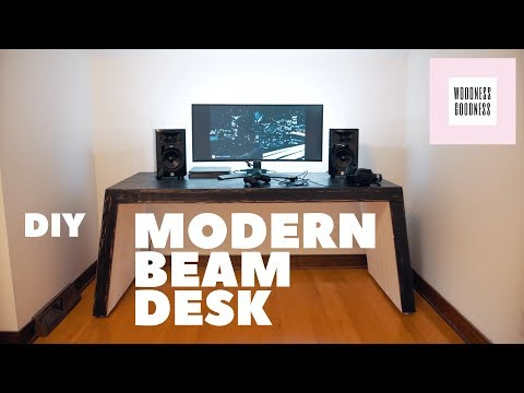 DIY Modern Gaming Desk