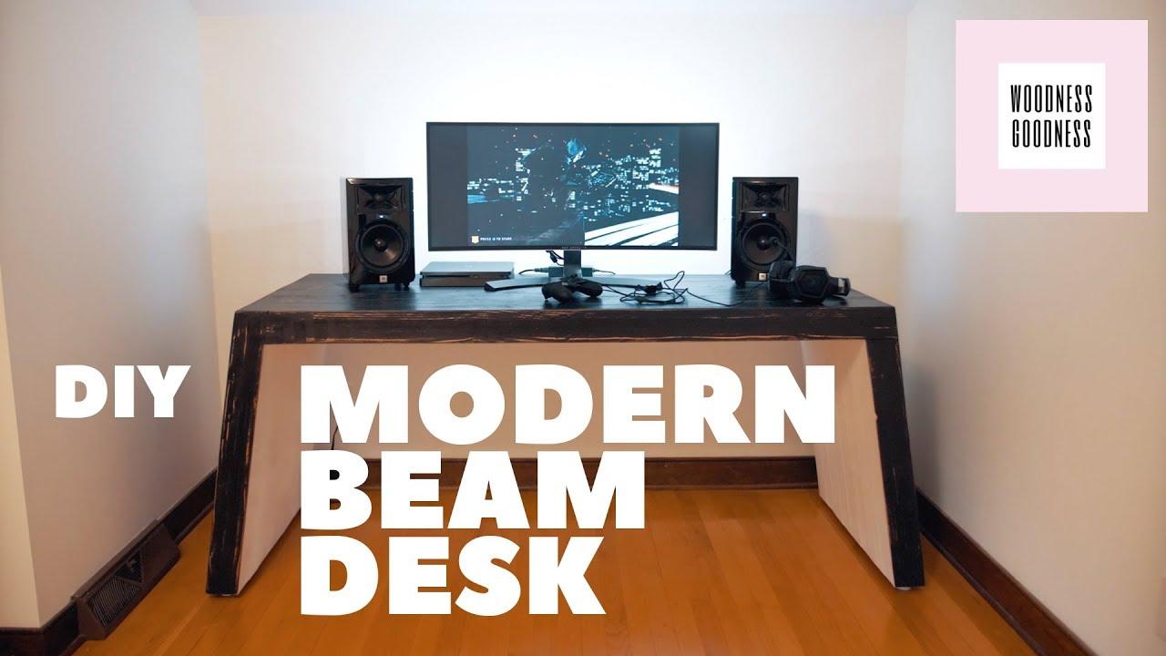 Diy Modern Gaming Desk