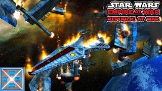 Das VENATOR WUNDER! - Lets Play Star Wars Empire at War - Republic at War Mod #8