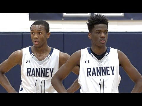 Scottie Lewis & Bryan Antoine CLUTCH State Playoff WIN??Ranney School vs Rutgers Prep Highlights