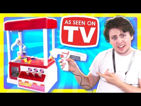 Top 5 *WEIRDEST* as Seen on TV Products Tested!