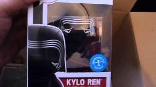 13 x Star Wars Episode VII Funko Pop Mail Call