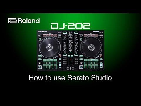 Roland DJ-202 - How to use Serato Studio