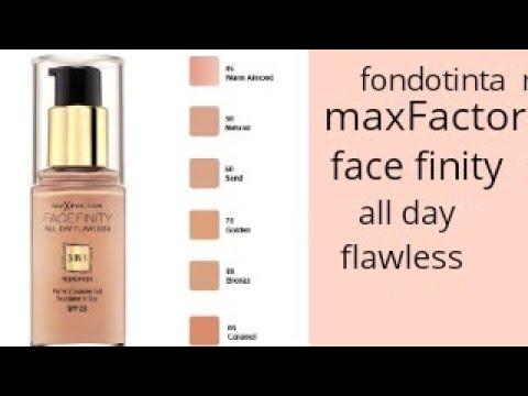 fondotinta max factor 3 in 1 natural