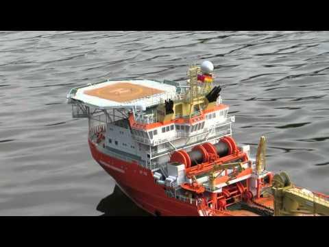 offshore-Modell NORMAND PROGRESS 1 : 75
