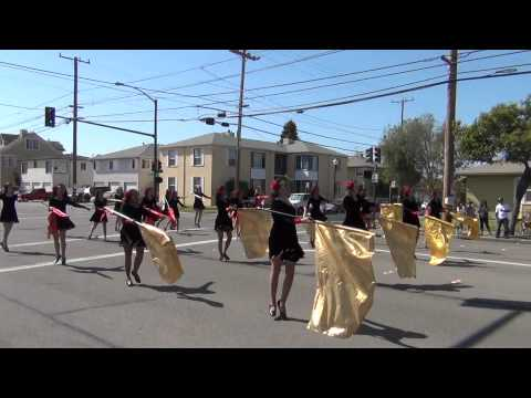 Golden West Marching Band and Color Guard - Encinal - Alameda - Sweeps