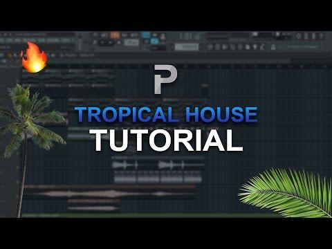 HOW TO MAKE: Tropical House 🌴 (2018) - FL Studio tutorial