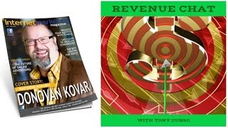 Revenue Chat with Tony DUrso welcomes Donovan Kovar, Digital Marketing Expert
