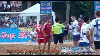 13th Pattaya Beach Football Cup Finland 2 - 3 luxembourg ep2