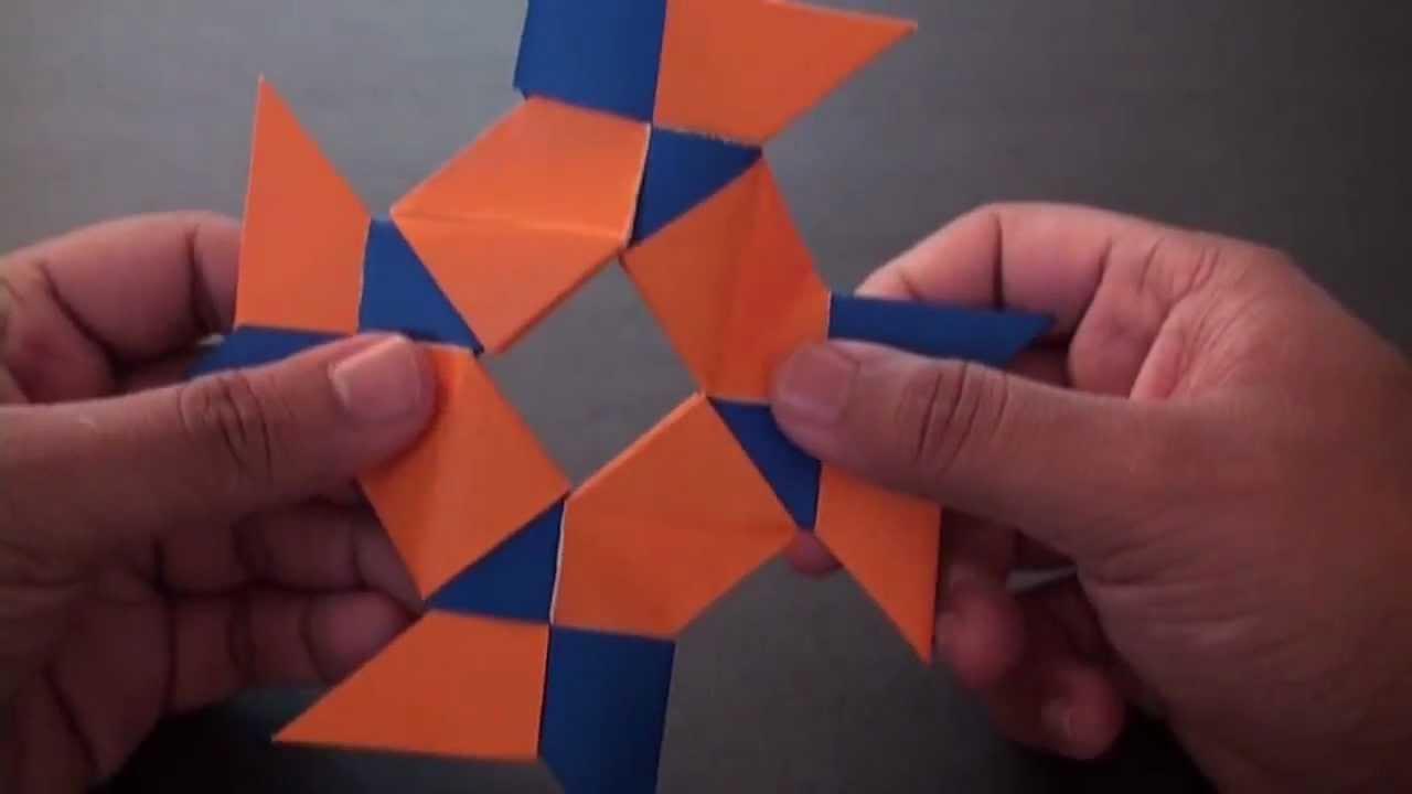 Origami 7 Pointed Ninja Star