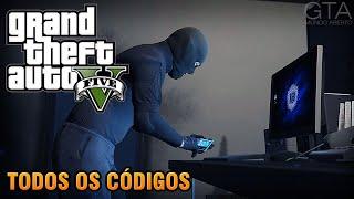GTA V - Todos os Códigos (PS3, PS4, Xbox 360, Xbox One & PC)