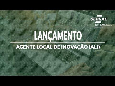 Lançamento: Agente Local de Inovação (ALI)