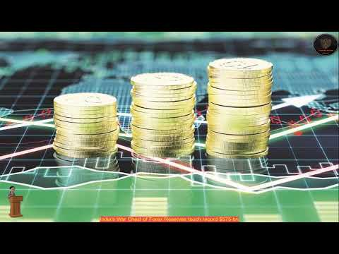India's War Chest of Forex Reserves touch record $575-bn