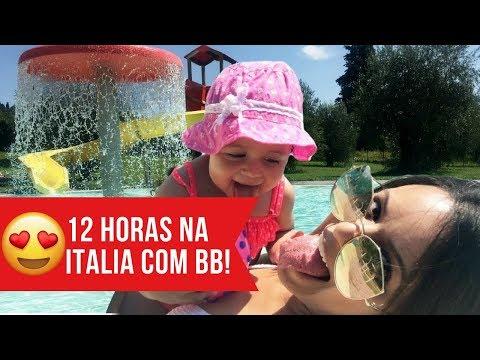 12 HORAS NA ITALIA COM O BEBÊ | RÊ ANDRADE