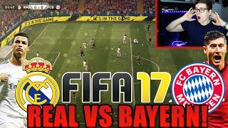 FIFA 17 GAMEPLAY - REAL MADRID VS BAYERN MÜNCHEN! (DEUTSCH) - WAS EIN GAME!!!
