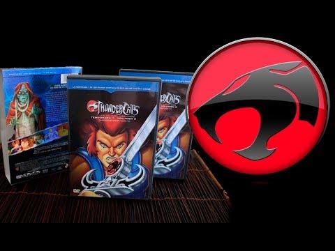 Thundercats Temporada 1 Volumen 2 DVD - Unboxing Series y peliculas