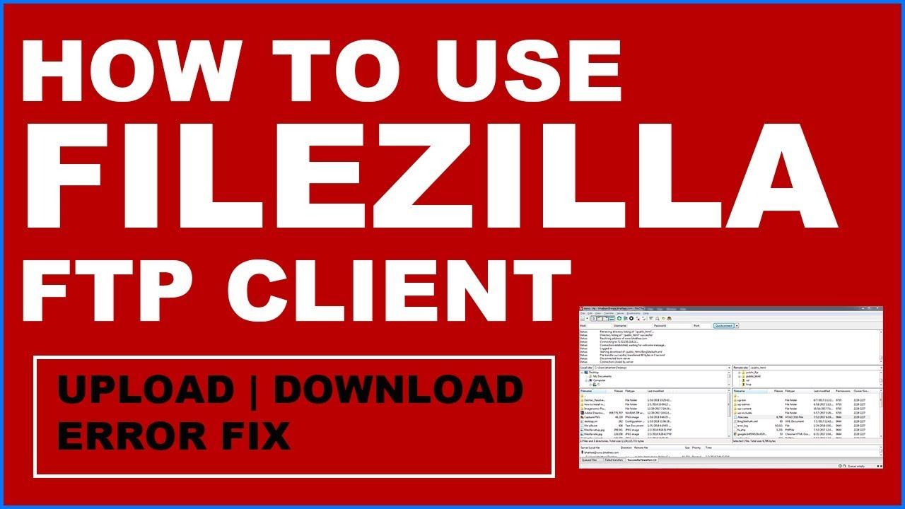 How to use filezilla ftp to upload files to web server | Filezilla Tutorial