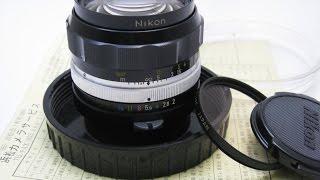 修理完了: オートニッコール 35mm/f2