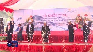Khởi công cây cầu đầu tiên trên tuyến cao tốc Lào Cai - Sa Pa