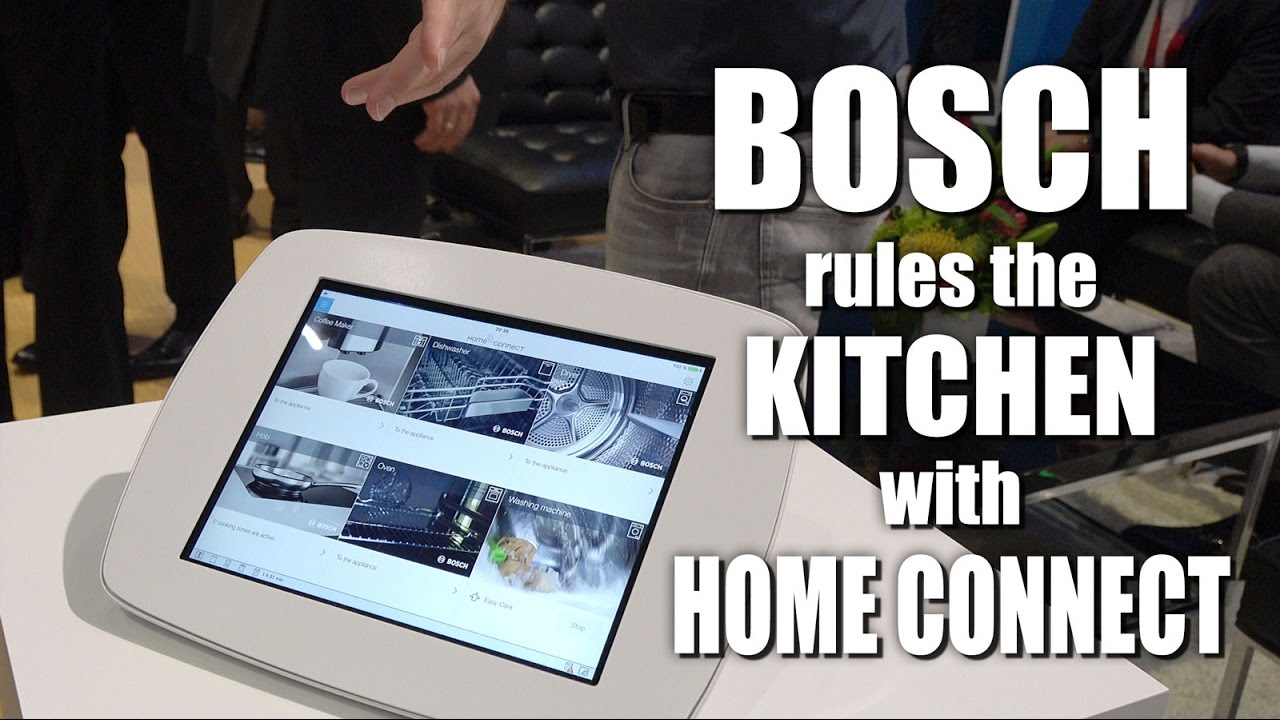 bosch home connect app technology preview youtube. Black Bedroom Furniture Sets. Home Design Ideas